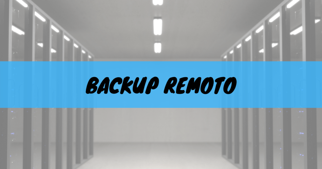 Backup remoto