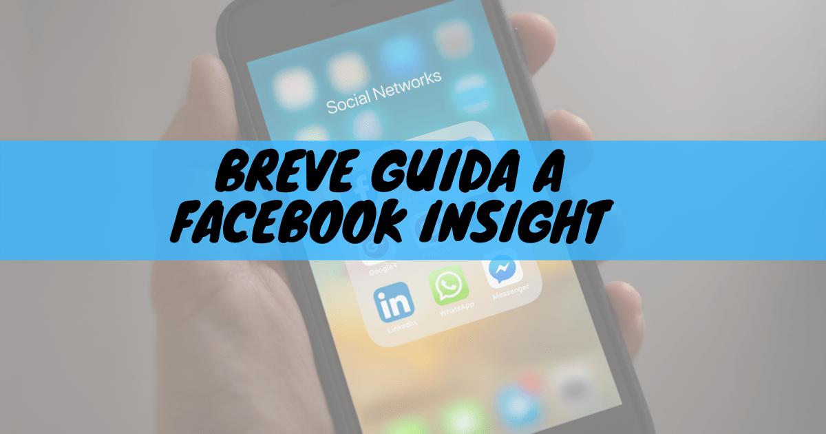 Breve guida a facebook insight