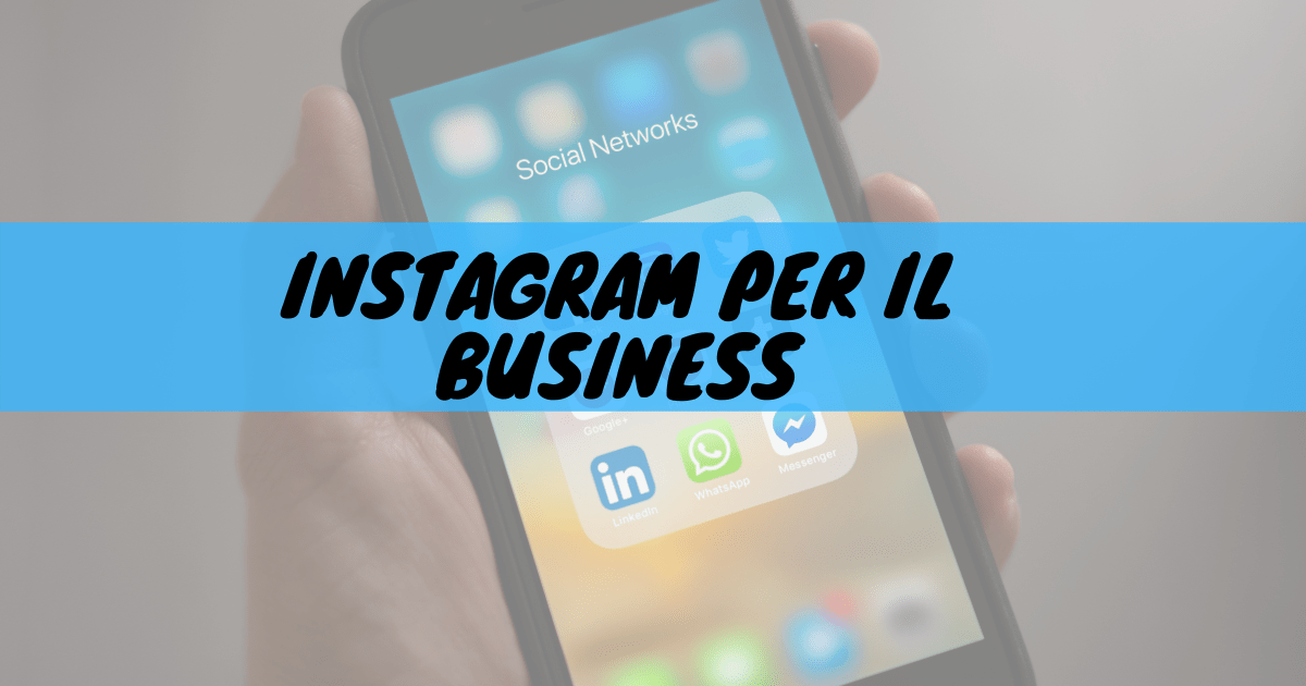 Instagram per il business