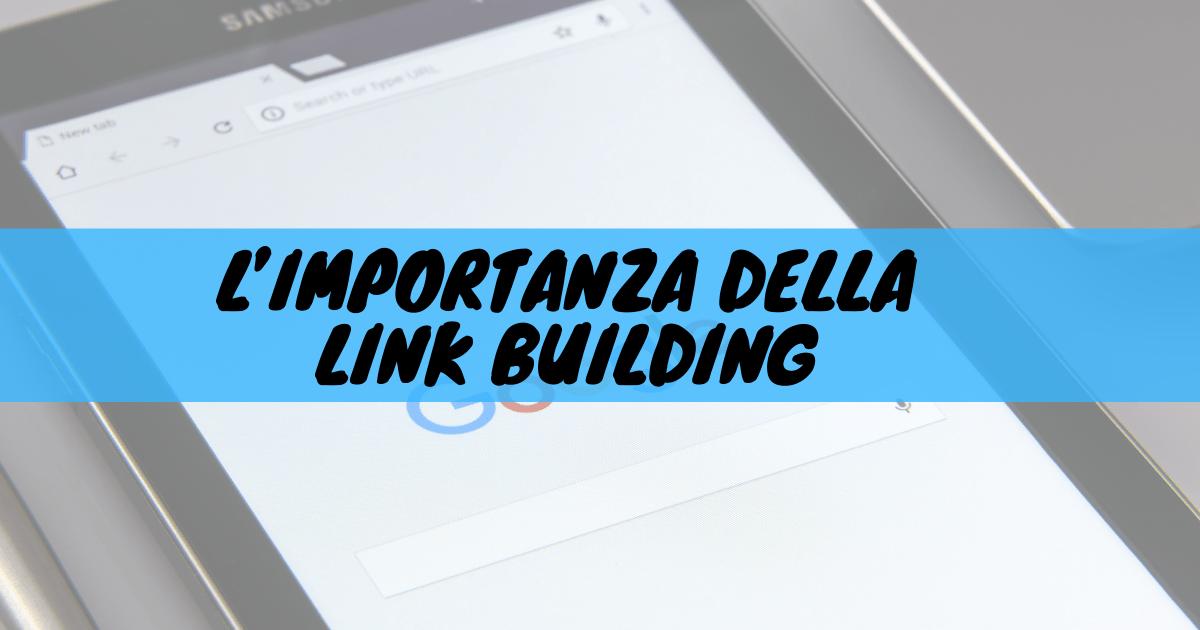 L'importanza della link building